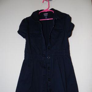 French Toast Girls Button Up Dress Uniform Size 10